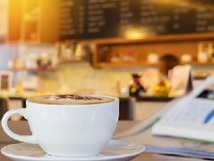 ร้านกาแฟและเบเกอรี่